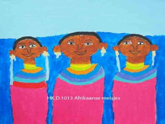afrikaanse-meisjes
